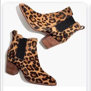 Madewell Cheetah Bootie size 8! Brand new
